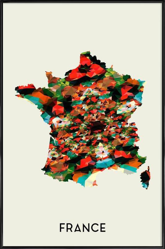 France Framed Poster