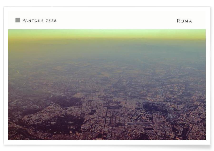 Roma Pantone 7538 Poster
