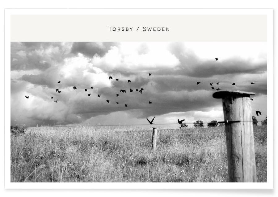 Torsby B&W Poster