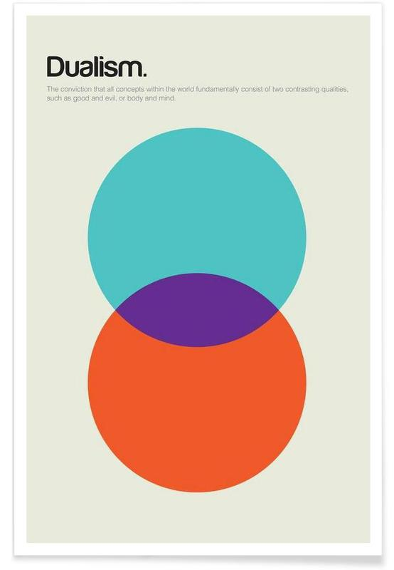 Dualism - Minimalistic Definition Poster