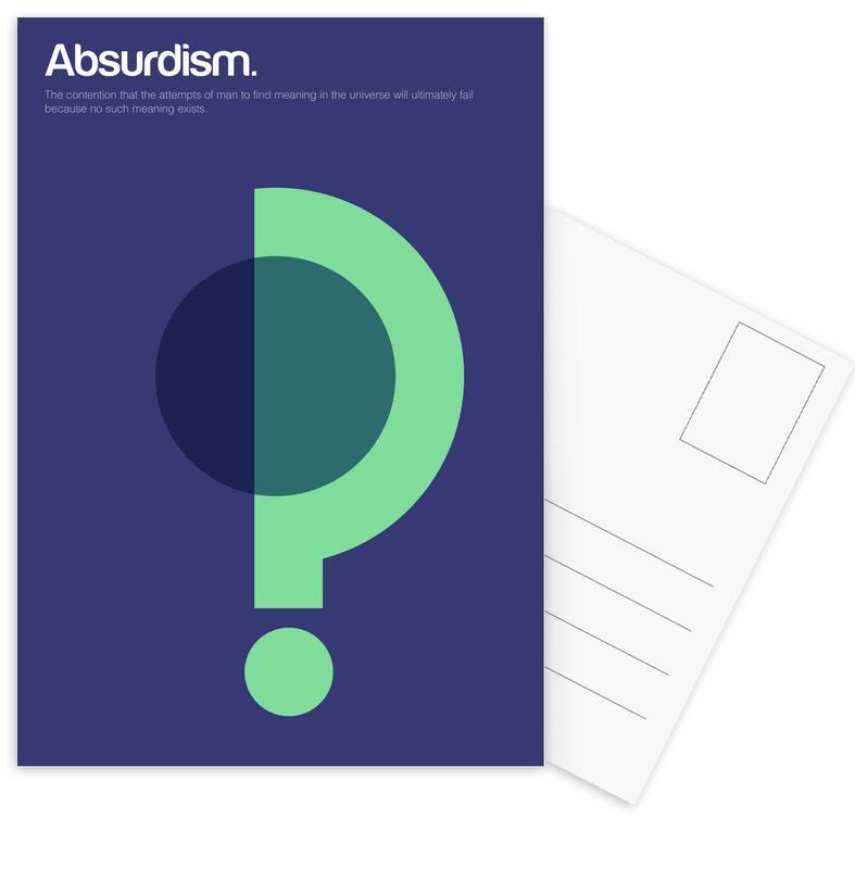 Absurdism Postcard Set