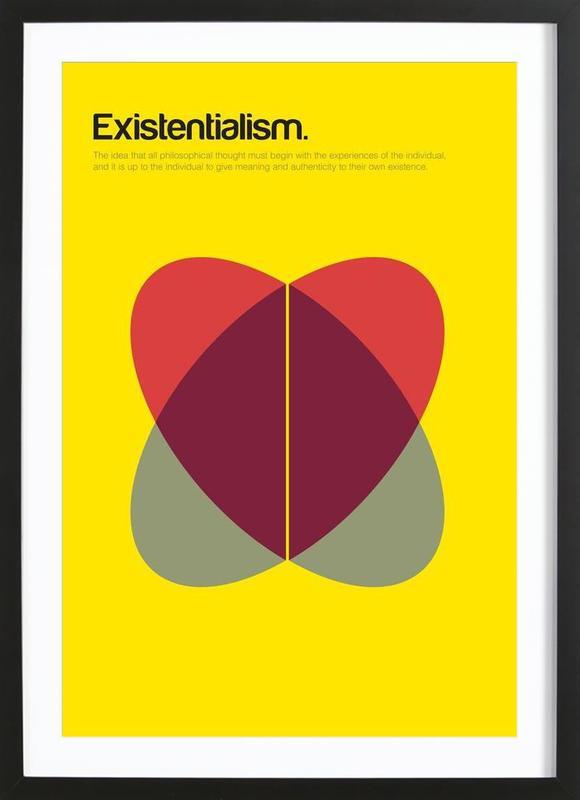 Existentialism Framed Print