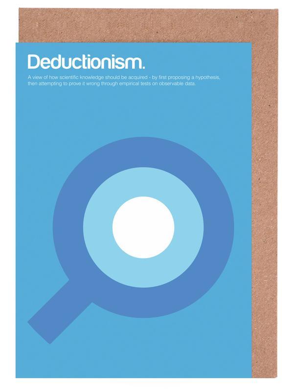 Deductionism Greeting Card Set