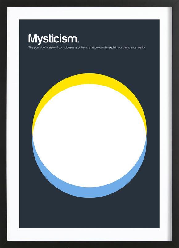 Mysticism ingelijste print