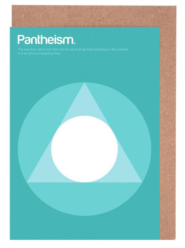 Pantheism Greeting Card Set