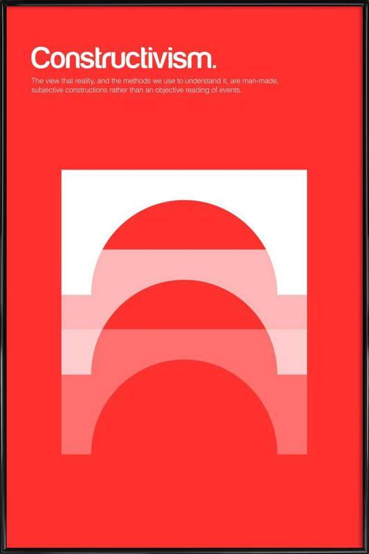 Constructivism -Bild mit Kunststoffrahmen