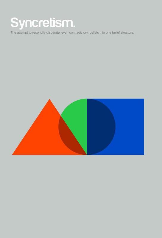 Syncretism -Acrylglasbild