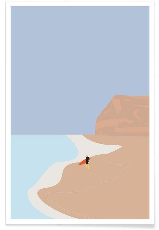 Fornøjelse Surf No. 01 Poster