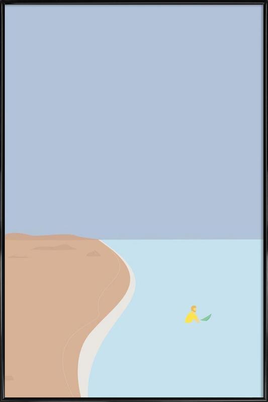 Fornøjelse Surf No. 02 Gerahmtes Poster | Dekoration > Bilder und Rahmen > Poster | Mehrfarbig