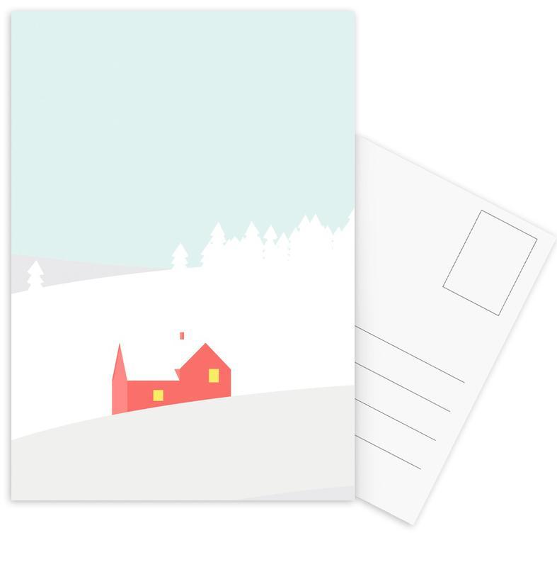 Hus No. 1 Postcard Set