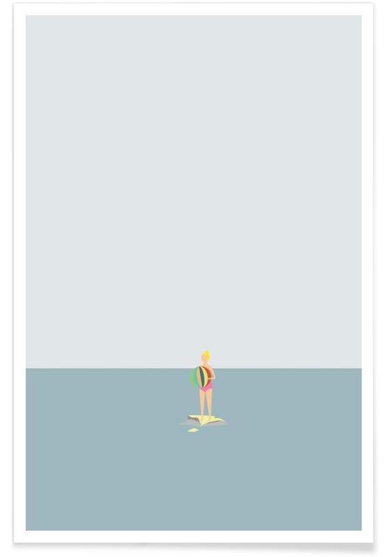 Ocaen Svømmere Girl Poster