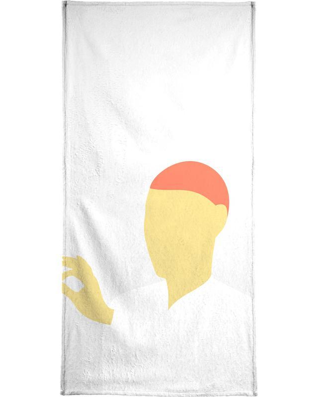 Modig 02 Handtuch | Bad > Handtücher > Handtuch-Sets | Mehrfarbig