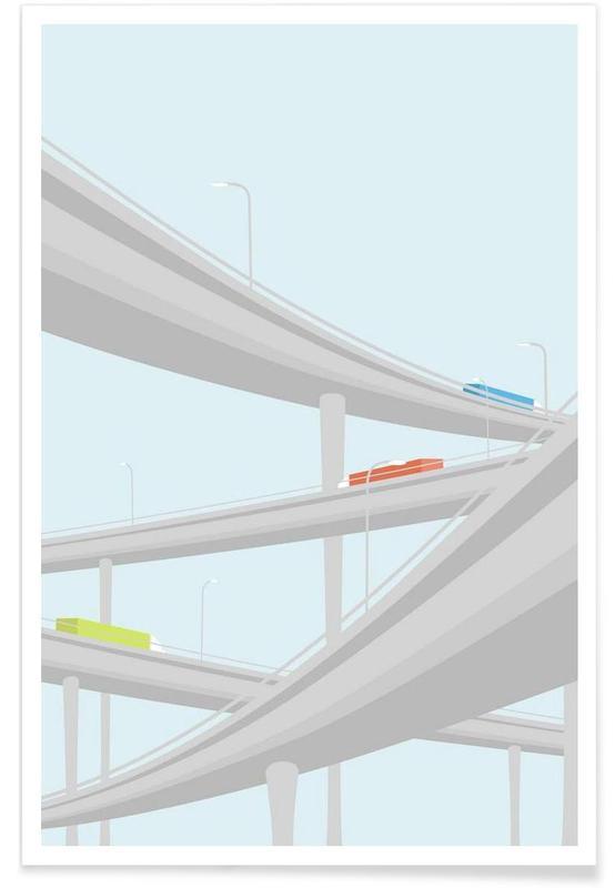Motorvejskryds Poster