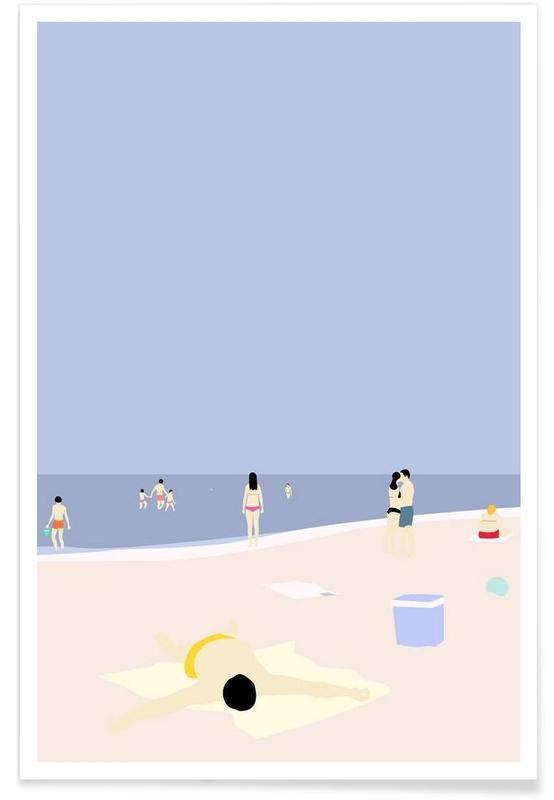 På Stranden Poster