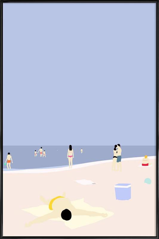 På Stranden affiche encadrée