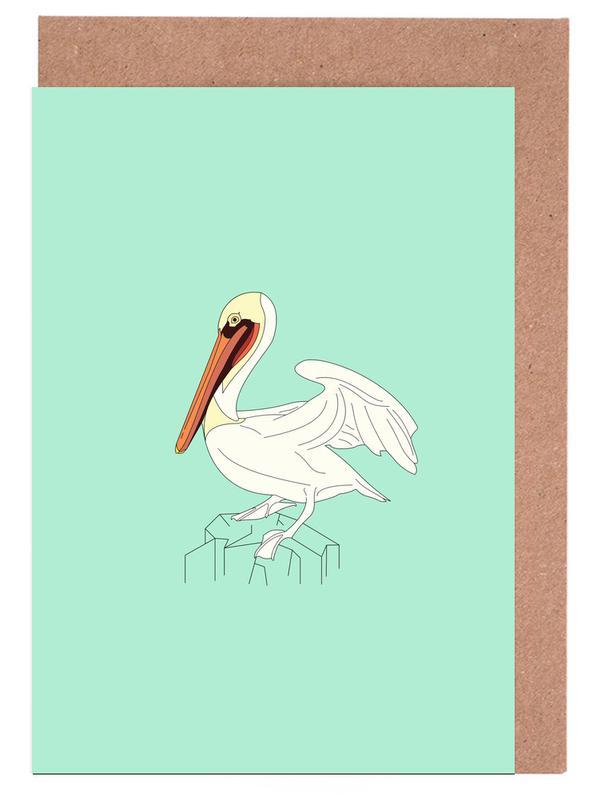Pelikan Greeting Card Set