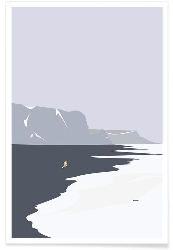 Koldt Vand Poster