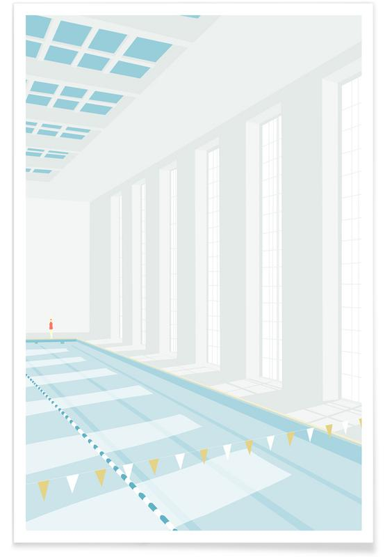 Svømmehal Poster