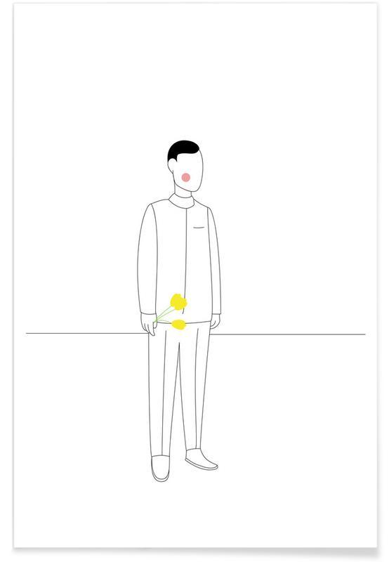 Kærestepar- Kjell Poster