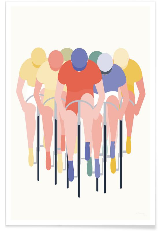 Cykelløb Poster