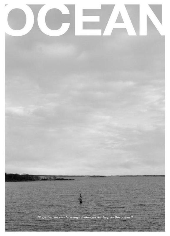 Ocean Leinwandbild