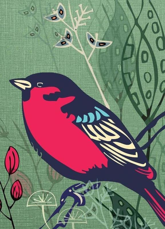 Bird Leinwandbild