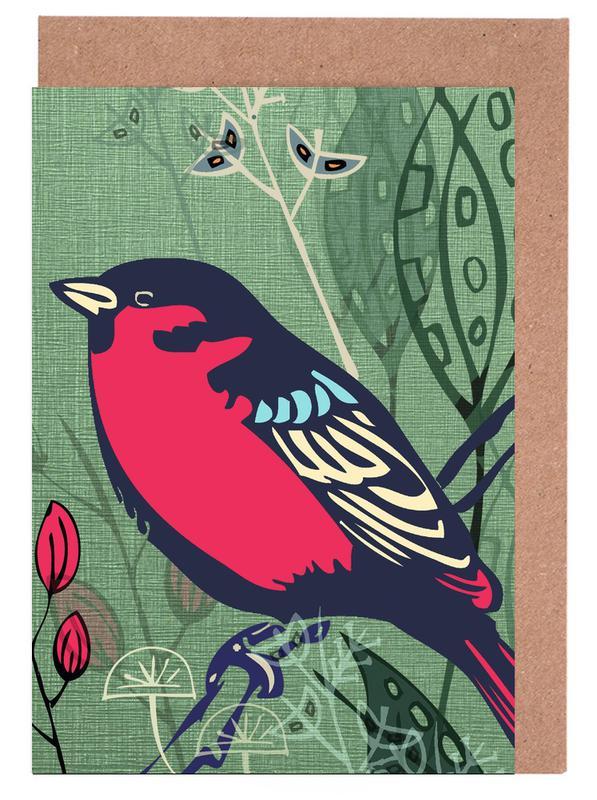 Bird Grußkartenset