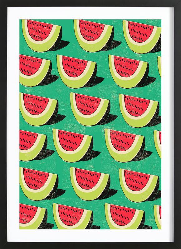 Melons Framed Print