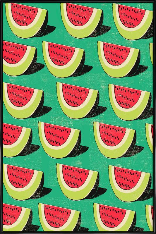 Melons Framed Poster