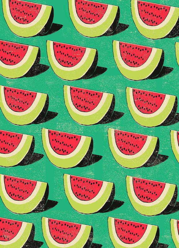 Melons -Leinwandbild