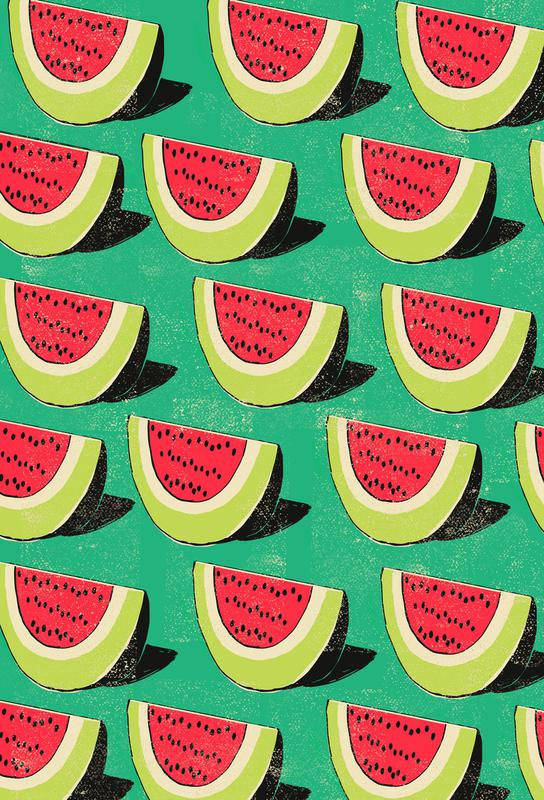 Melons Acrylic Print