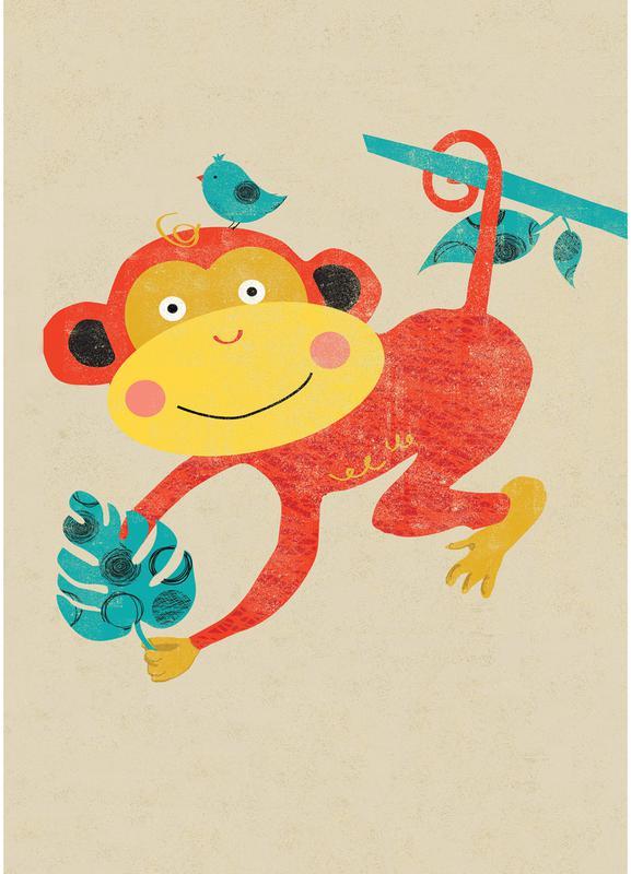 Monkey -Leinwandbild