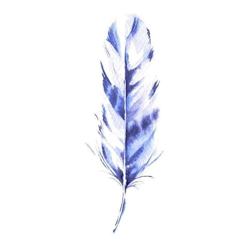 Feather -Leinwandbild