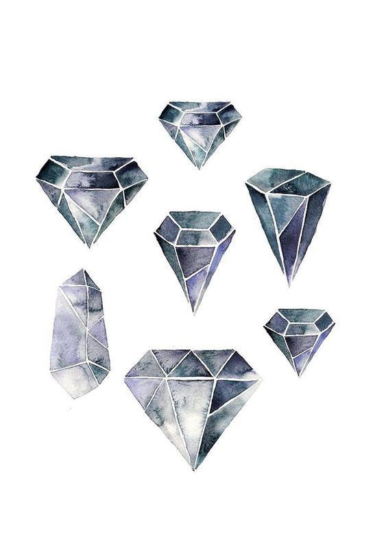 Diamonds Acrylglasbild