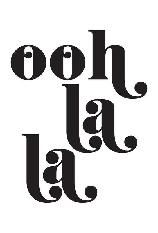 Ooh La La Acrylic Print