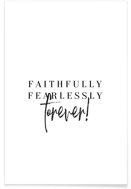 Faithfully Poster