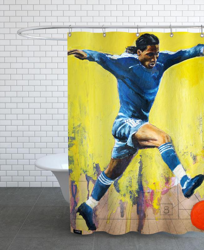 One Love - Chelsea Shower Curtain