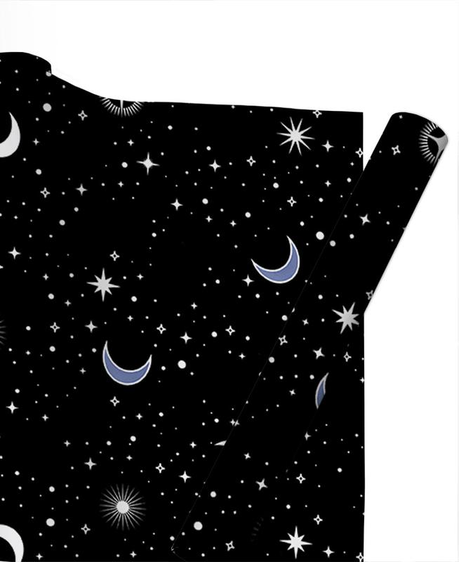 Stars Holiday Gift Wrap