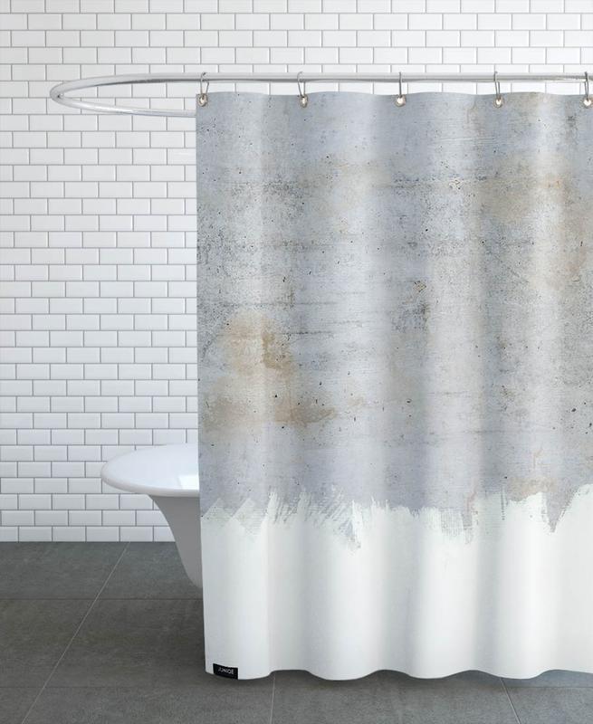 Concrete Style Duschvorhang | Bad > Duschen > Duschvorhänge | Mehrfarbig | Polyester