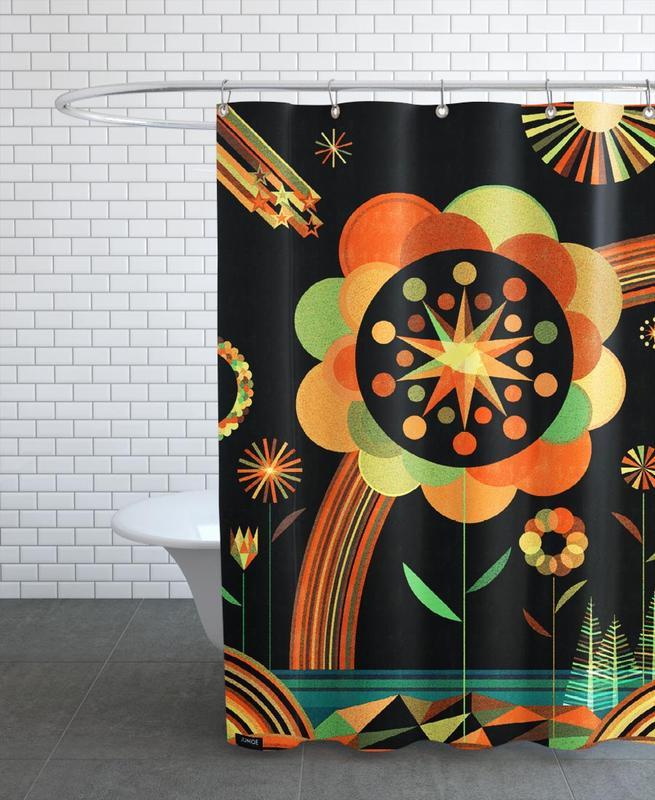 Joy Scape Shower Curtain