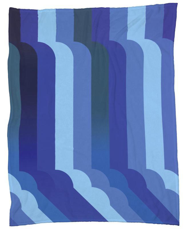 Waterfall Fleecedecke   Heimtextilien > Decken und Kissen > Mehr-Decken   Mehrfarbig