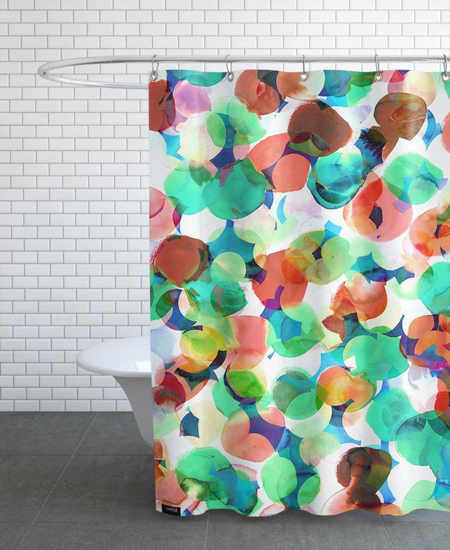 Electricus Duschvorhang | Bad > Duschen | Mehrfarbig | Polyester