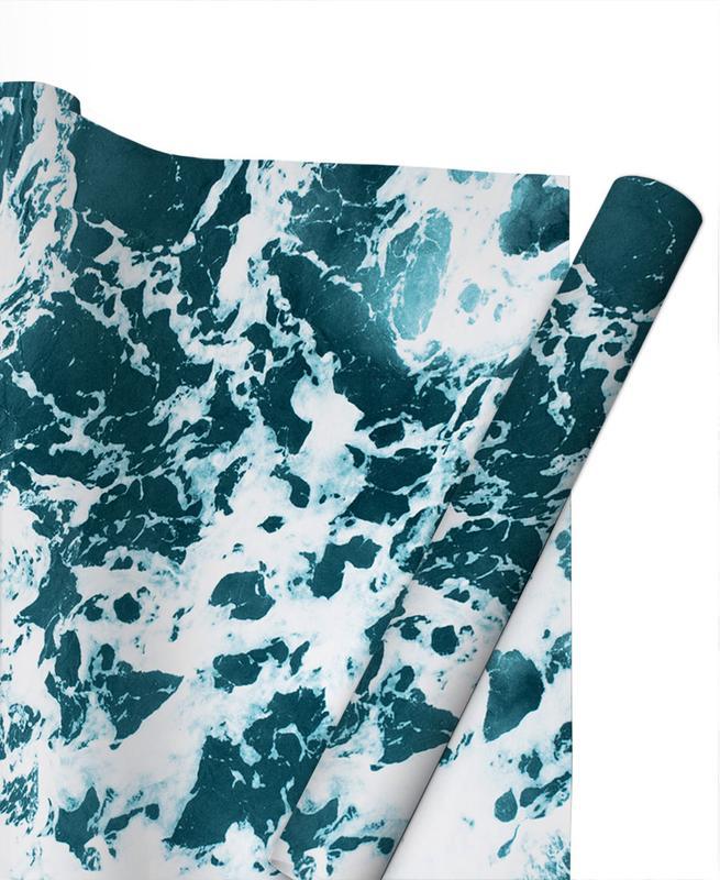 Ocean Blue Geschenkpapier | Weihnachten > Geschenkideen