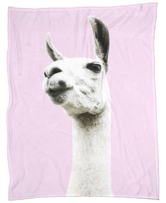 Pink Llama Fleecedecke | Heimtextilien > Decken und Kissen > Mehr-Decken | Mehrfarbig