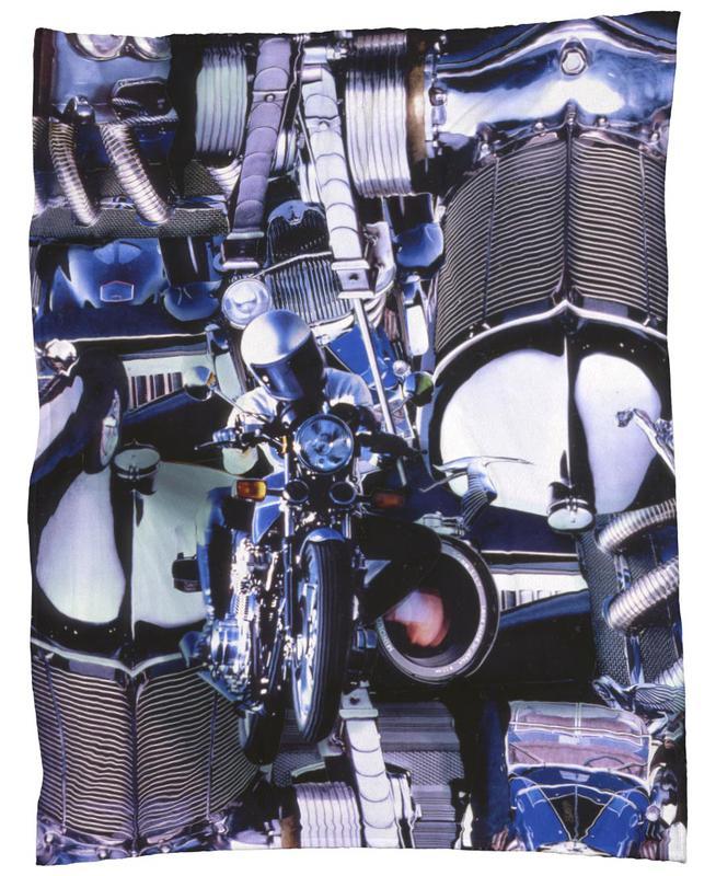 Blue Dynamic, 1980 Fleecedecke | Heimtextilien > Decken und Kissen > Mehr-Decken | Mehrfarbig