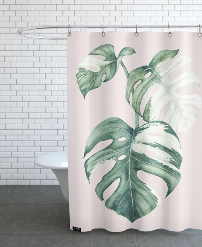 Tropical No. 4 Duschvorhang | Bad > Duschen > Duschvorhänge | Mehrfarbig | Polyester