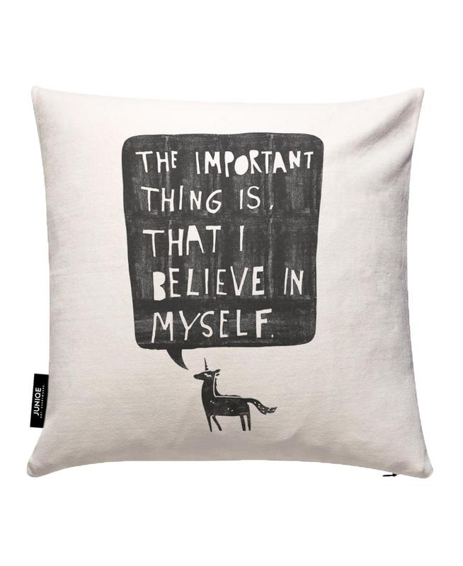 Believe Cushion Cover
