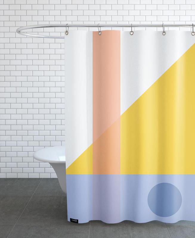 Geo comp ohoi studio duschvorhang