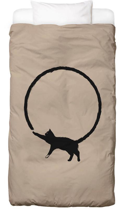 Cat Circle Bettwäsche | Heimtextilien > Bettwäsche und Laken > Bettwäsche-Garnituren | Mehrfarbig | Baumwolle