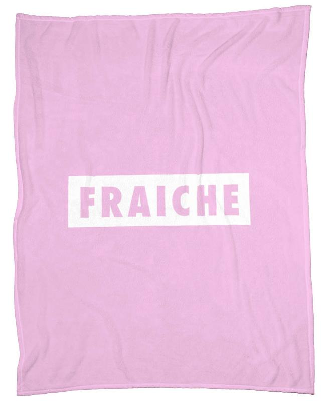 Fraiche Box Rose I Fleecedecke